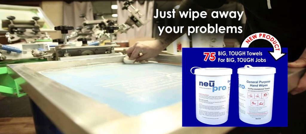 NEUPRO™ LARGE All Purpose and Hand Wipes are sold in a 75 count dispensing container Excellent LARGE textured fabric cleaning wipes can be used safely on multiple surfaces including equipment and hands. TOUGH on cleaning but gentle on hands, surfaces and sensitive equipment. Saves time, money and water on clean ups!