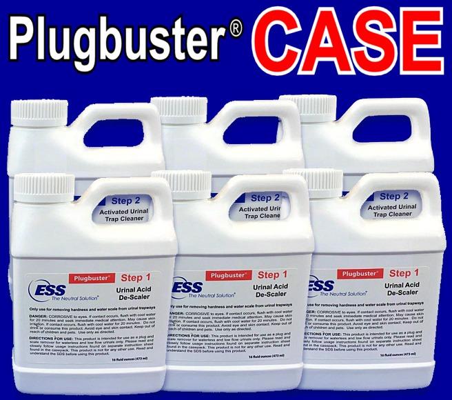 Plugbuster® System for Urinals (CASE)