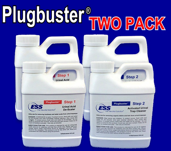 Plugbuster™ System for Urinals (TWO Treatment2)
